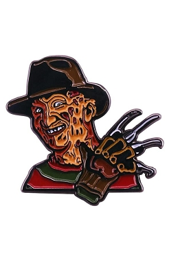 FREDDY KRUEGER NIGHTMARE ON ELM STREET  ENAMEL PIN